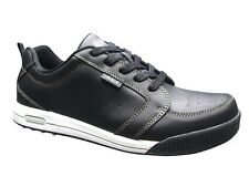 NEW NIBLICK GOLF SHOE NOSSA MENS GOLF SHOES BLACK LEATHER CROSSOVER