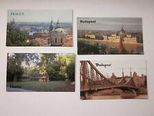 MAGNETS BUDAPEST PRAGUE VIENNA EASTERN EUROPE COLLECTIONS 4,3, or 2 SETS #59