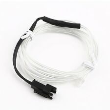 1M Colorful Flexible EL Wire Tube Rope Neon Light Glow Car Party Decor PD