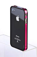 Fashion Bumper Frame TPU Silicone Case open back Skin for Apple iPhone 4 4S 4G