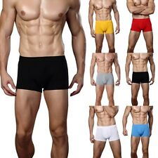 Sexy Mens Underwear Underpants Cotton Soft Boxer Briefs Shorts Trunks Pack Pants