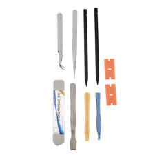 BEST 10PCS Repair Opening Pry Tool Set Spudger Tweezer Blade Kit For iPhone DP