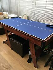 Multi Games Snooker Table/Ping Pong