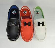 New Mens Italian Loafers Moccasin Designer Casual Driving Shoes UK 6-12