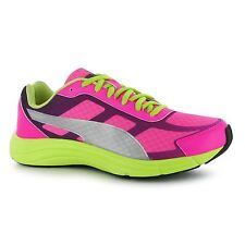 Puma Expedite Trainers Womens Pink/Lime Gym Fitness Workout Trainers Sneakers