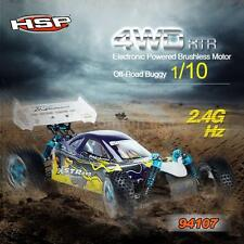 HSP 94107PRO 1/10 4WD Motor RTR Off-Road Buggy & 2.4GHz Transmitter NEW D0H7
