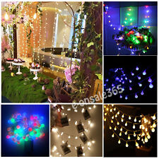 Connectable 10M 100-LED Ball Indoor Bedroom Fairy String Lights Xmas Shelf Decor