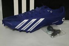 ADIDAS SPRINT STAR 4m TRACK  & FIELD MEN'S SHOE, BLUE/WHITE, B40815,