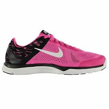 Nike In Season 5 Print Training Shoes Womens Pink/White Gym Trainers Sneakers