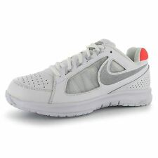 Nike Air Vapor Ace Tennis Shoes Womens White/Silv Trainers Sneakers