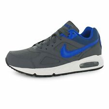 Nike Air Max Ivo Training Shoes Mens Grey/Blue Sports Fitness Trainers Sneakers