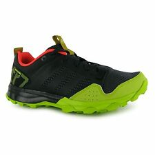 Adidas Kanadia 7 TR Running Shoes Womens Black/Yellow Trainers Sneakers Fitness