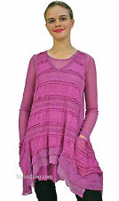 NWT Pretty Angel Clothing Augusta Two Piece Ladies Retro Tunic Mauve 88326