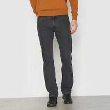 R Essentiel Mens Straight Jeans