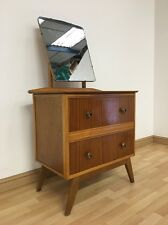 VINTAGE MID CENTURY 60S JOHN CITIZEN COMPACT DRESSING TABLE CHEST OF DRAWERS