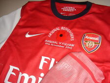 Arsenal 2012-13 NIKE EPL Remembrance (vs Fulham) Long-sleeve Player-issue Shirt
