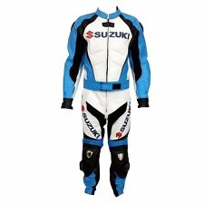 SUZUKI GSXR LEATHER SUIT MOTORBIKE/MOTORCYCLE LEATHER SUIT MEN BIKER JACKET PANT