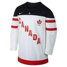 TEAM CANADA WHITE NIKE 100th ANNIVERSARY IIHF REPLICA JERSEY