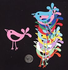 "Bird Die Cuts, Fancy Bird Die Cuts (#2), 2.75"" x 3"" wide - 5 or 10 pcs."