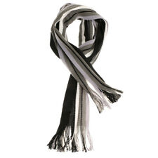 Special Gift for Men Classical Stripe Warm Winter Knitted Scarf