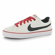 Nike Capri 3 Textile Trainers Juniors White/Black/Red Sports Shoes Sneakers