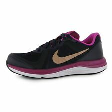 Nike Dual Fusion X2 Trainers Junior Girls Purple/Bronze Sports Shoes Sneakers