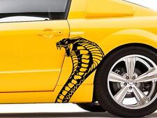 NEW Fits Ford MUSTANG SHELBY Cobra Snake vinyl Graphics sticker Decal Racing