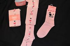 Gymboree TRES CHIC Pink Heart Tights or Pink Poodle Socks Choice NWT 3 4 5 7