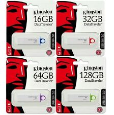 Kingston DTIG4 128GB 64GB 32GB 16GB USB 3.0 Flash Pen Drive DataTraveler lot