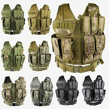 Multi-function Outdoor Hunting Military Mesh Tactical Vest MOLLE Airsoft Combat