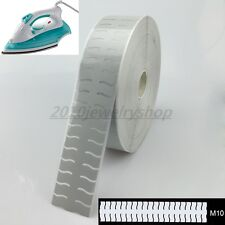 """Safety Silver Reflective Tape Fabric Iron On Heat Transfer Film 2"""" M10"""