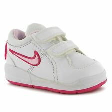 Nike Pico 4 Trainers Infant Girls White/Pink Sneakers Sports Shoes Footwear