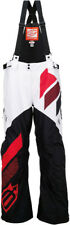 Arctiva Mens Black/Red Comp Insulated Snowmobile Bibs