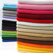 Solid Plain Color POLAR FLEECE Anti Pil Fabric Warm Washable Material 150cm Wide