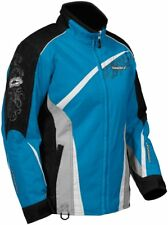 Castle X Snow Ladies Charm Blue Insulated Snowmobile Snowboard Riding Jacket