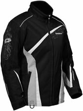 Castle X Snow Ladies Charm Black Insulated Snowmobile Snowboard Riding Jacket