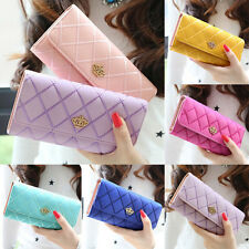 Pouch Hobo Women Wallet Beautifu Long Bag Clutch Synthetic Leather Purse New