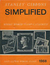 Stanley Gibbons Simplified Whole World Stamp Catalogue 1968