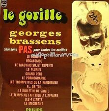 Georges Brassens: Le Gorille, 1965 Philips 844.703 BY French LP