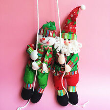 Christmas Santa Claus Snowman Rope Climbing Xmas Tree Decor Hanging Ornaments