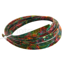 Colorful Celluloid Guitar Binding Purfling Body Project Strip 1650 x 4 x 1.5mm