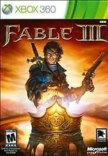 FABLE III 3 XBOX 360 Video Game - SEALED----SUPER FAST + FREE SHIPPING!!