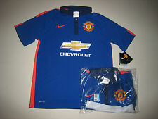 Manchester United 2014-15 NIKE 3rd Away Short Sleeve Shirt BNWT NEW Medium Large