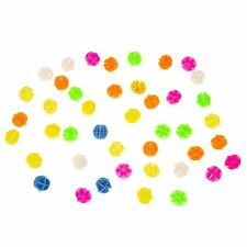 "25S8 Bike Bicycle Spoke Assorted Color 0.55"" Dia Plastic Beads Decoration 45 Pcs"