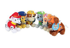 "NEW OFFICIAL 8"" PAW PATROL PUP PLUSH SOFT TOY NICKELODEON DOGS CHASE ROCKY ZUMA"