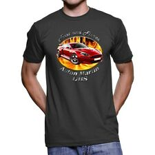 Aston Martin DBS Fast And Fierce Men`s Dark T-Shirt