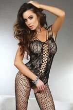New sexy lingerie fishnet open crotch body stocking bodysuit nightwear