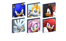 Sonic the Hedgehog - Canvas prints - 4 sizes - Free Post