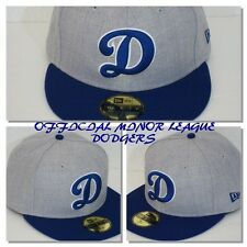 "Oklahoma City DODGERS Blue ""D"" Logo MiLB 59Fifty Fitted Hat"