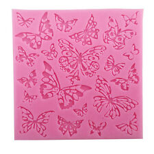 Hot Butterfly Cake Silicone Mold Fondant Cookie Decor Sugarcraft Baking Molds